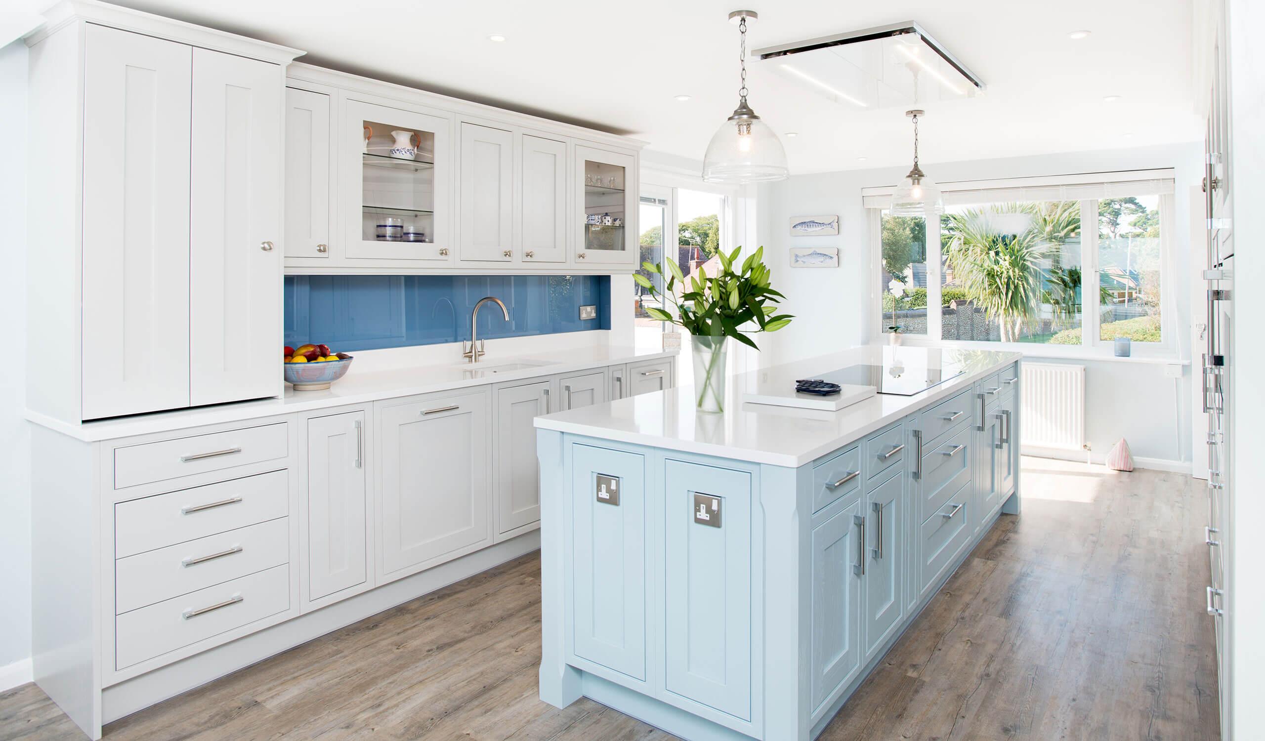Bespoke modern kitchen island