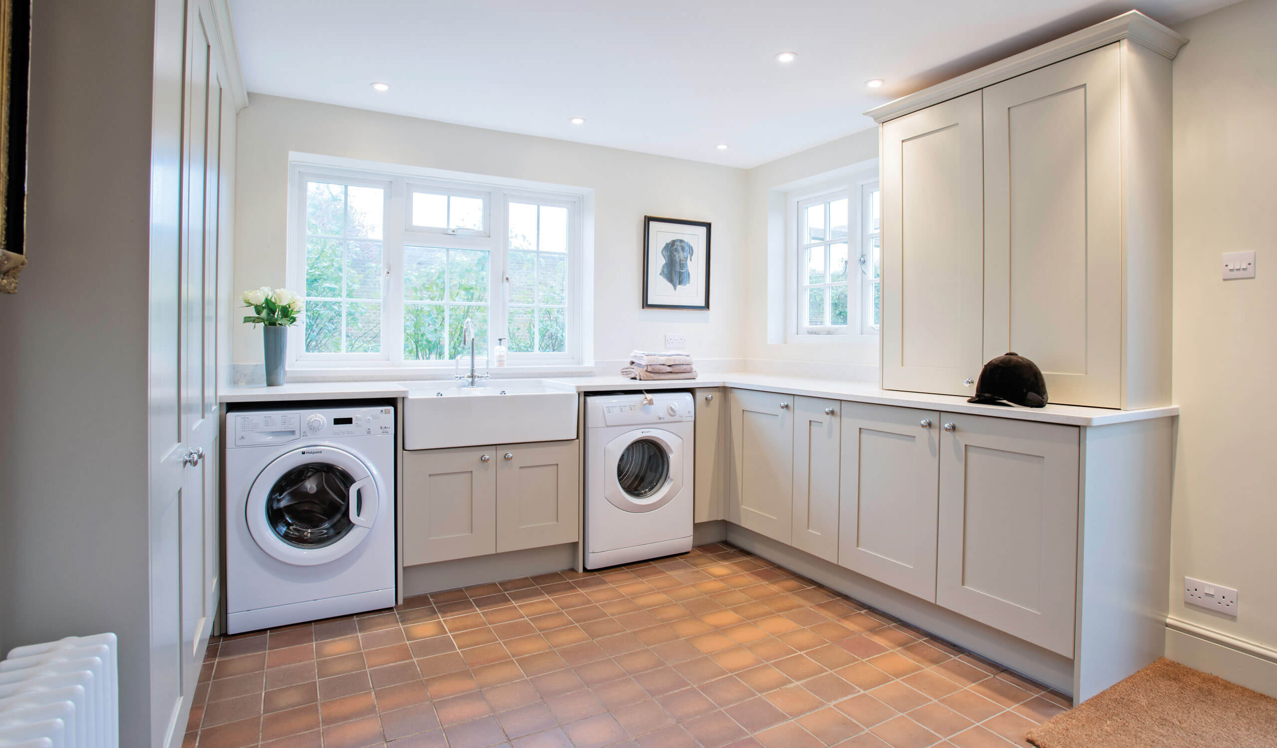 country style kitchen overview