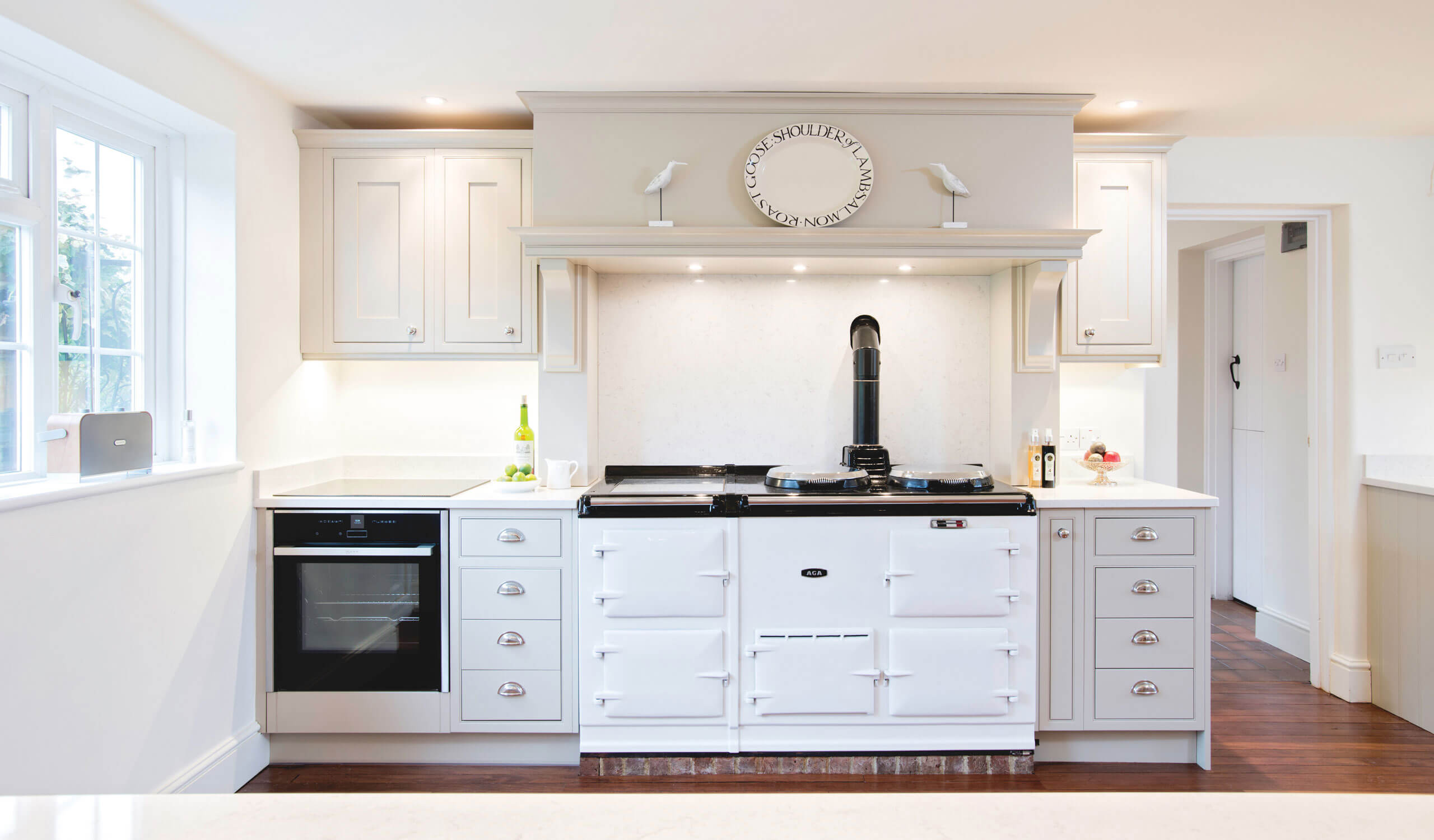 Country style kitchen cooking appliances