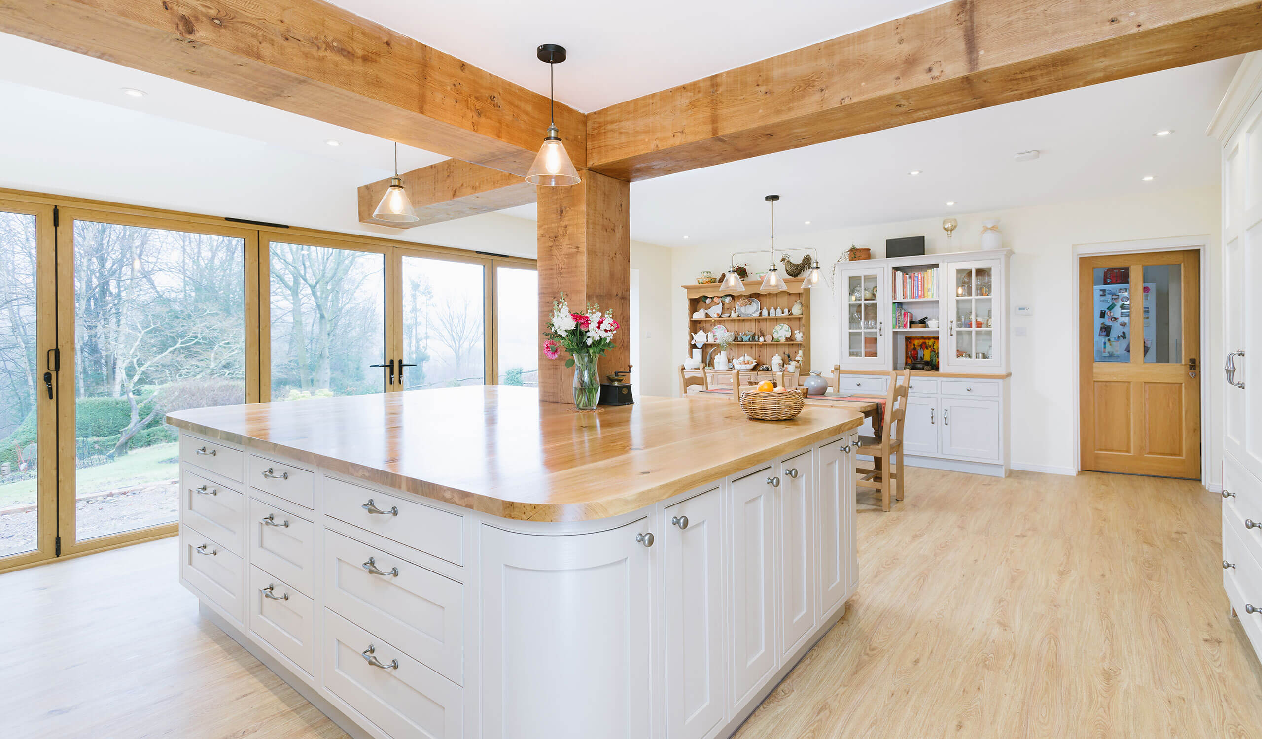 Kitchen Redesign in Bolney Island