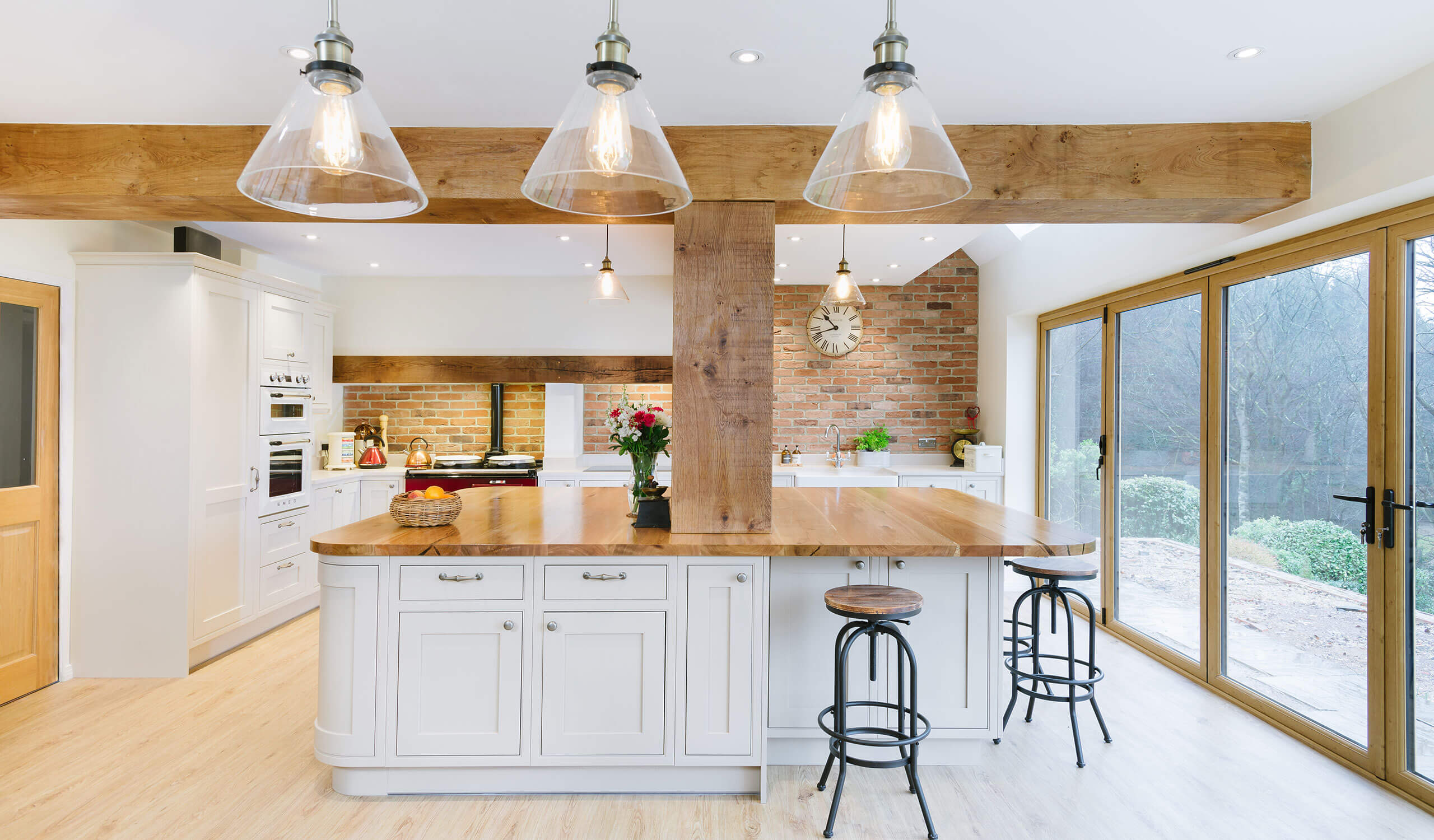 Kitchen Redesign in Bolney lighting