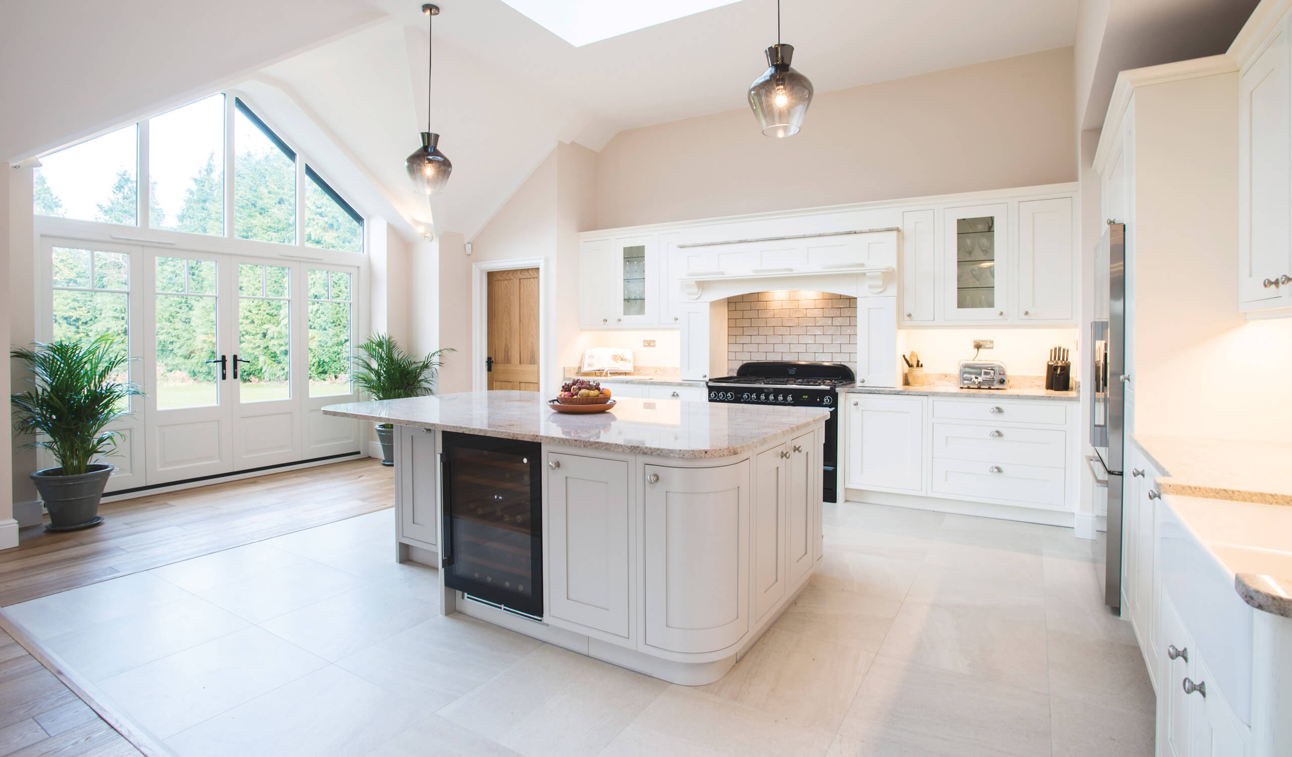 shaker-style kitchen