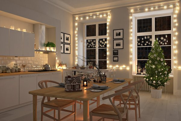 Top Kitchen Christmas Decoration Ideas